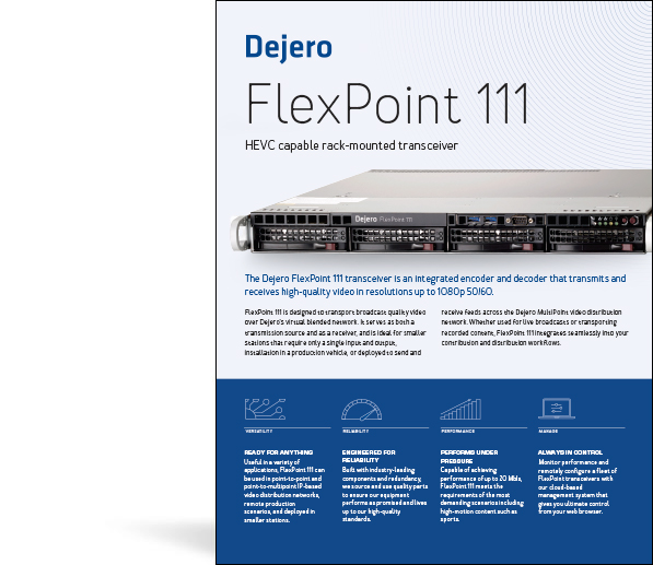 Dejero FlexPoint 111