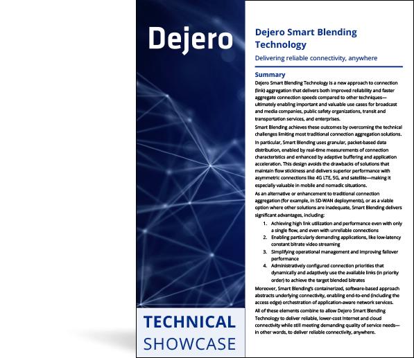 Technical Showcase: Smart Blending Technology